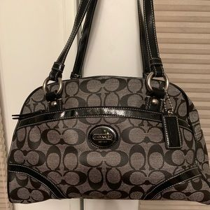 Coach Monogram Handbag